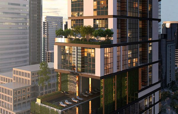 The-Lofts-Asoke-Bangkok-condo-for-sale-swimming-pool-and-garden